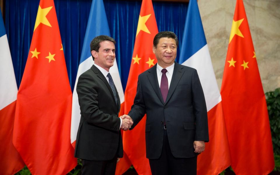 Vendredi 30 janvier, Manuel Valls a rencontré XI Jinping, président de la République populaire de Chine