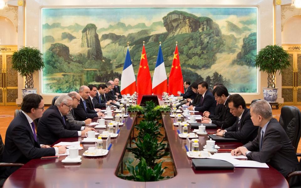 Audience accordée au Premier ministre par XI Jinping, président de la République populaire de Chine