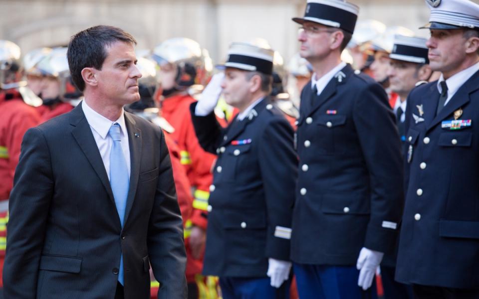 Manuel Valls à la préfecture de région