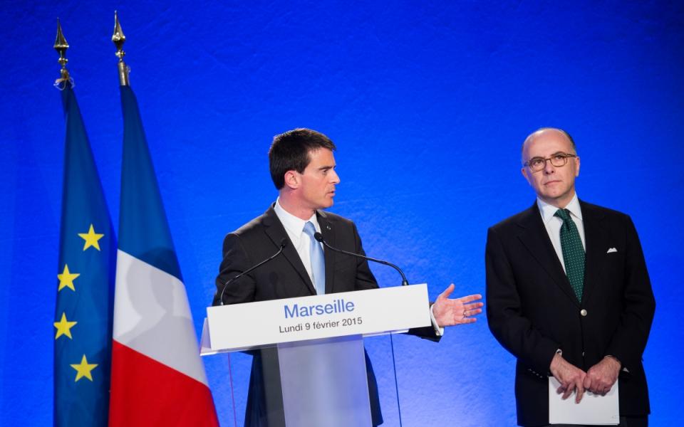 Conférence de presse conjointe avec Bernard Cazeneuve à la préfecture de région