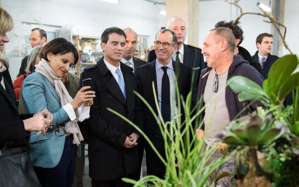Manuel Valls et Najat Vallaud-Belkacem à la Friche - Belle de Mai