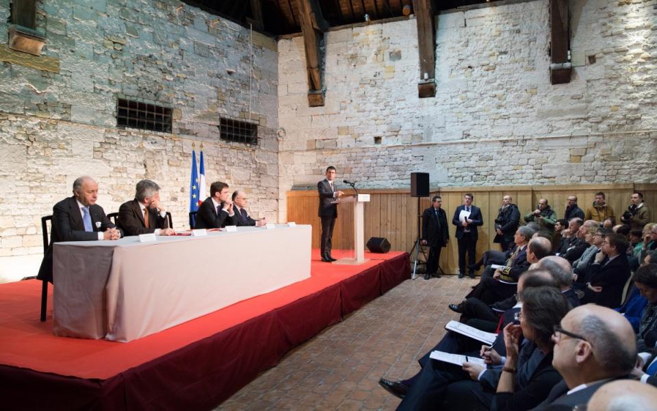 Discours de Manuel Valls à Honfleur