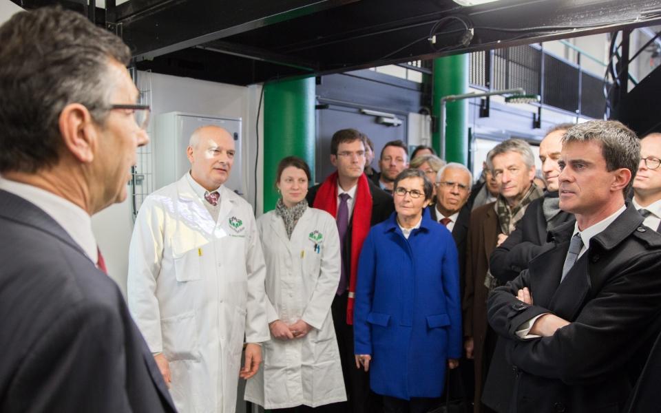 Visite des laboratoires de recherche à Mont Saint-Aignan
