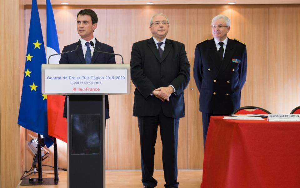 Allocution de Manuel Valls à l'occasion de la signature du projet de contrat de plan Etat-région au Conseil régional d'Île-de-France