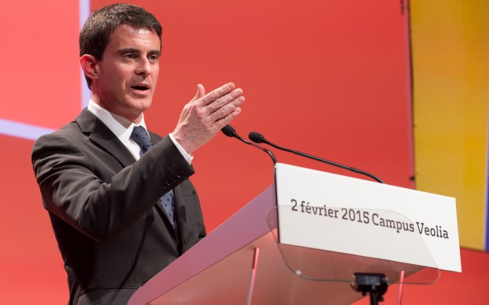Discours de Manuel Valls à l'occasion des 20 ans du campus de formation Veolia