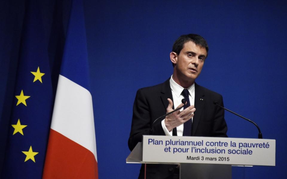 Manuel Valls présente la feuille de route 2015-2017 du plan pluriannuel contre la pauvreté et pour l'inclusion sociale