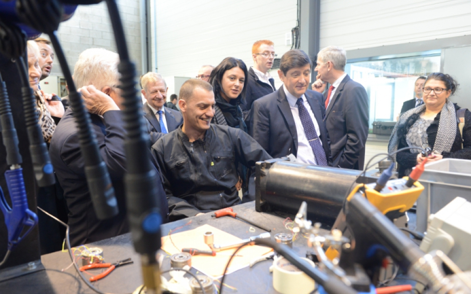 Le 31 octobre 2014, Sylvia Pinel et Patrick Kanner se rendent à Fauquembergues, dans le Pas-de-Calais, pour un atelier sur le thème des nouvelles coopérations ville-campagne.