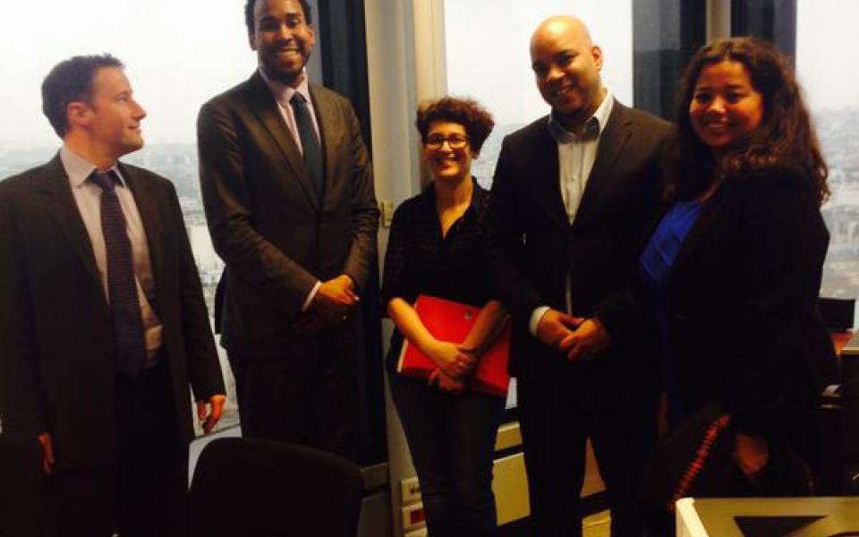Rencontre avec David J. Johns, Conseiller de la Maison Blanche sur les questions de discriminations