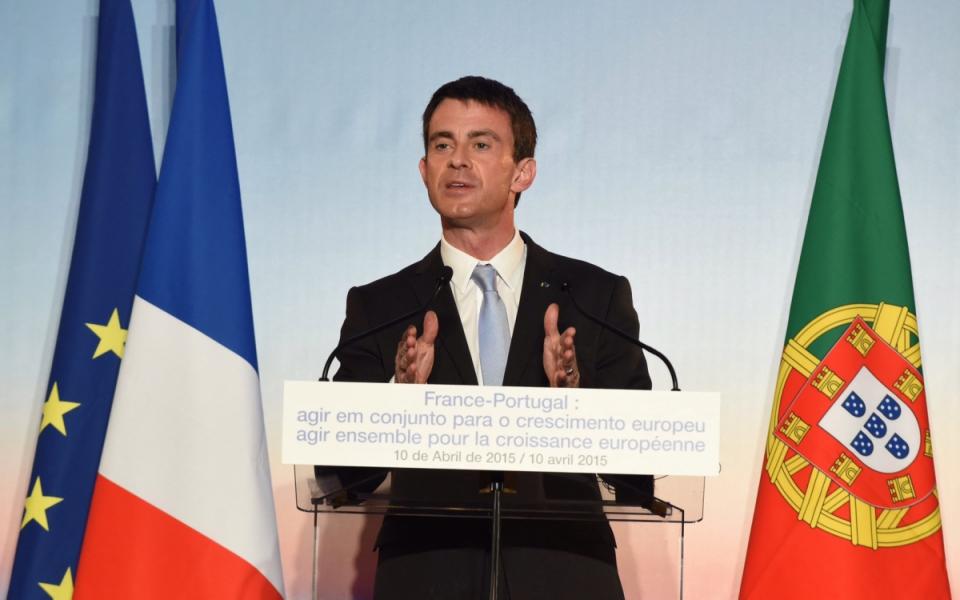 Conférence de presse de Manuel Valls