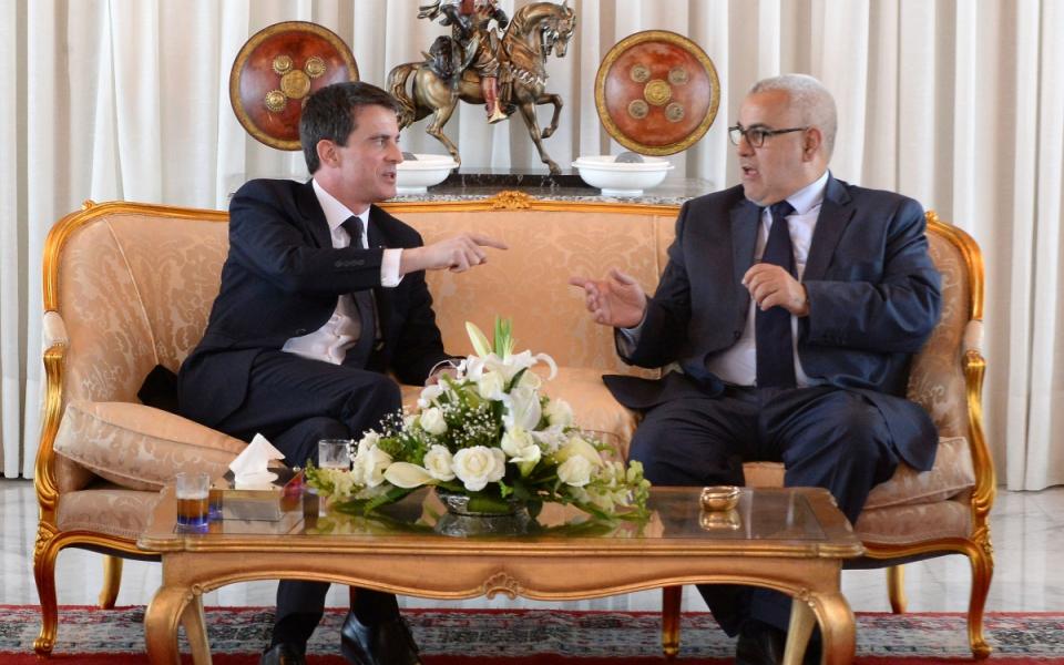 Entretien de Manuel Valls avec Abdel-Ilah Benkirane, Chef du gouvernement du Maroc