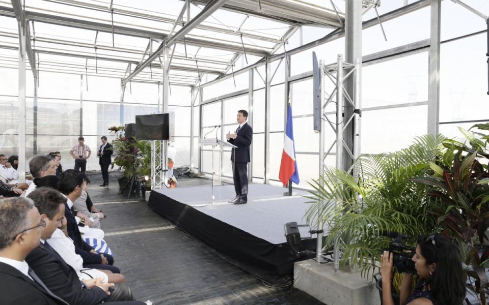 Visite et inauguration d'un projet d'Akuo Énergies