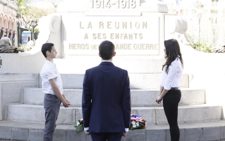 Hommage aux Réunionnais morts pour la France
