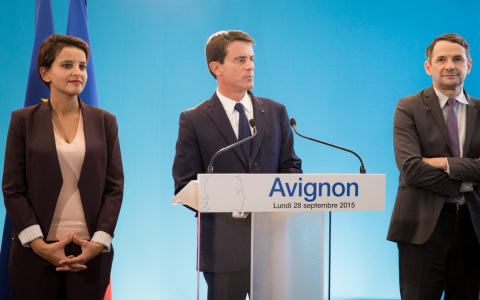 Allocution de Manuel Valls au campus de l'Agroparc d'Avignon