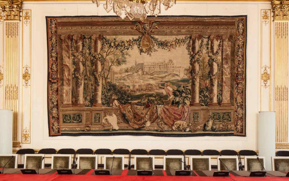Tapisserie des Gobelins, Salle du Conseil