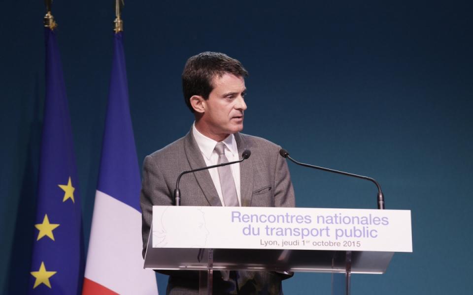 Allocution de Manuel Valls a l'occasion des Rencontres nationales du transport public