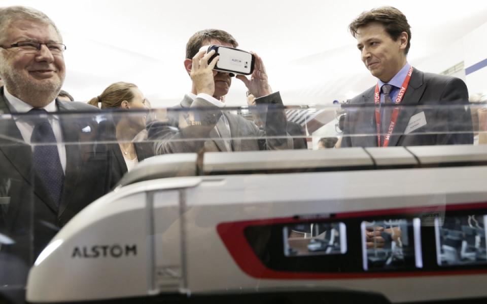Manuel Valls aux Rencontres nationales du transport public