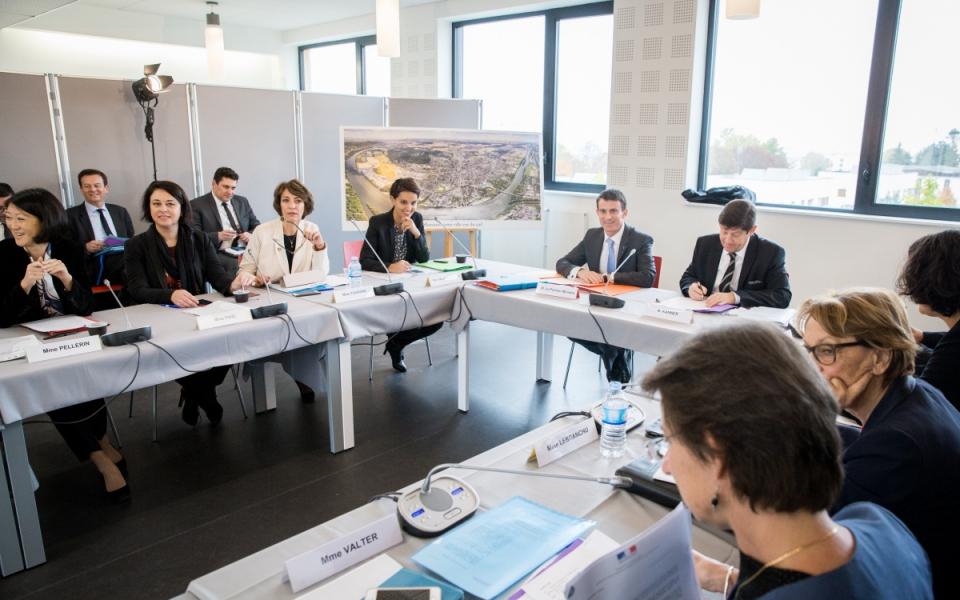 Manuel Valls préside le Comité interministériel égalité et citoyenneté