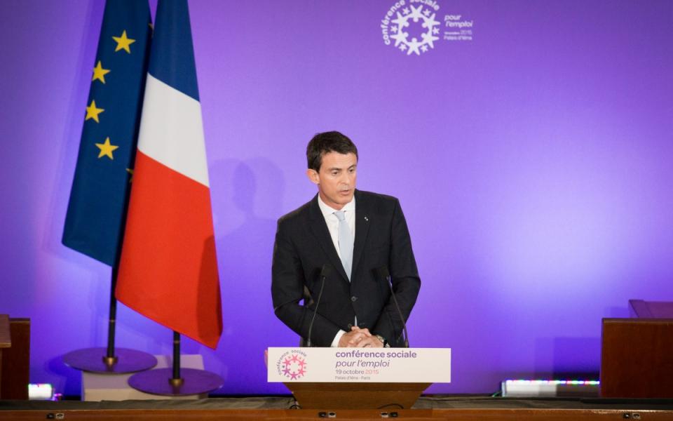 Manuel Valls clôture la Conférence sociale pour l'emploi 2015