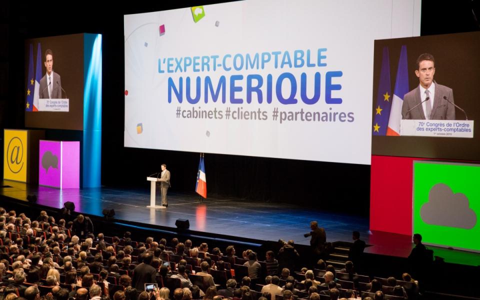 Allocution de Manuel Valls au 70e congrès de l'Ordre des experts-comptables