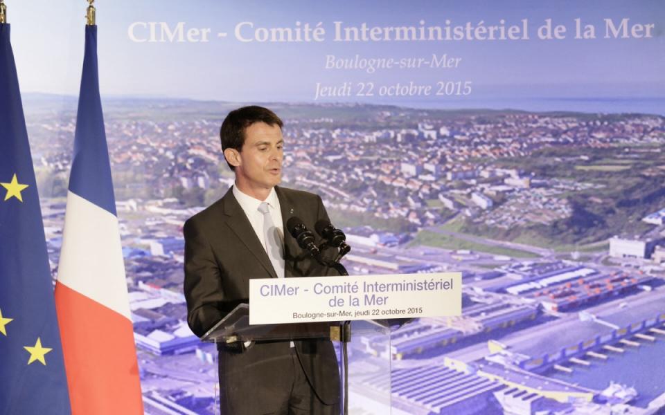Conférence de presse de Manuel Valls à l'issue du CIMer