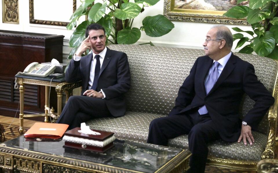 Entretien de Manuel Valls avec Sherif Ismail, Premier ministre de la République arabe d'Egypte