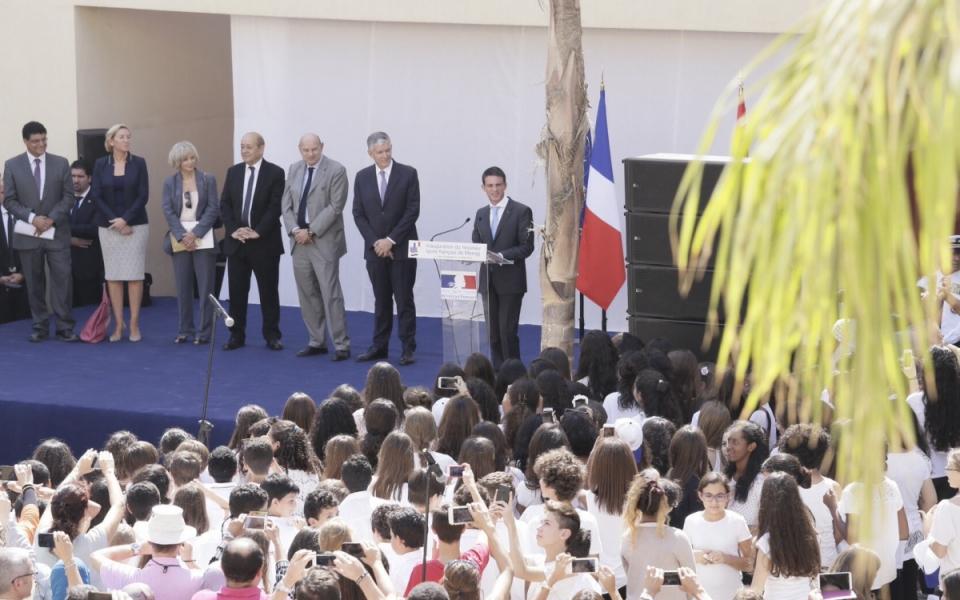 Discours de Manuel Valls lors de l'inauguration du lycée français du Caire