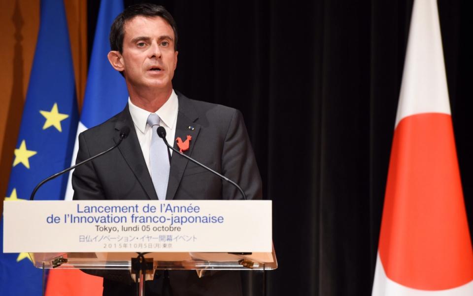 Manuel Valls lance l'Année franco-japonaise de l'innovation