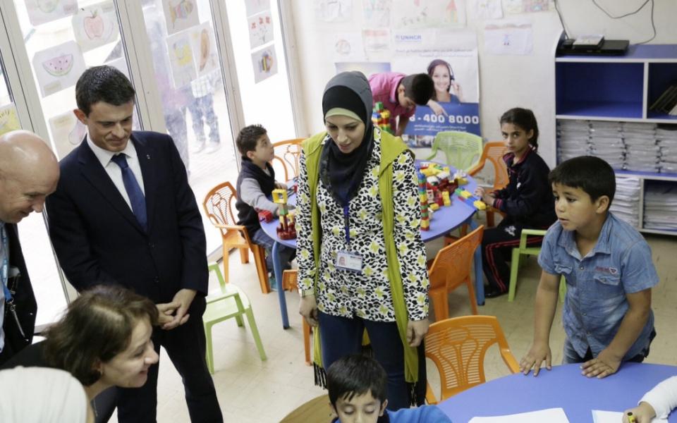 Rencontre avec des réfugiés syriens en Jordanie