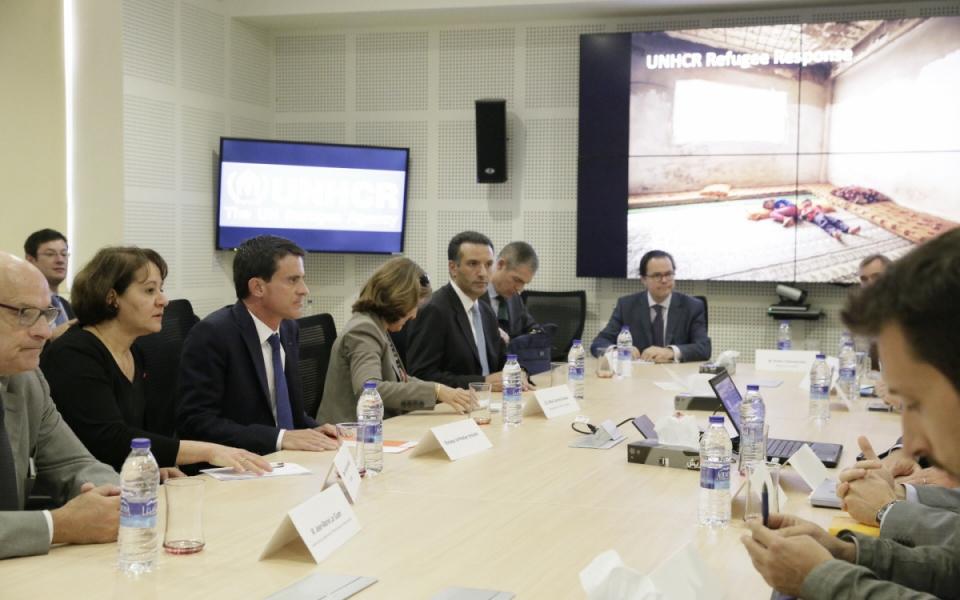 Rencontre avec les principales agences onusiennes impliquées dans l'accueil des réfugiés syriens en Jordanie