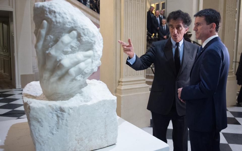Manuel Valls et l'ancien ministre de la Culture, Jack Lang