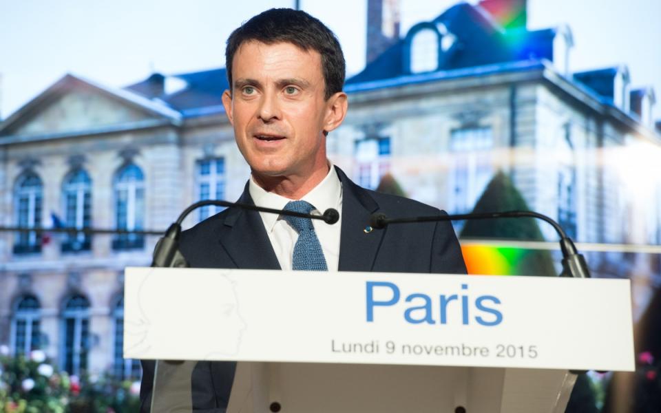 Allocution de Manuel Valls au musée Rodin