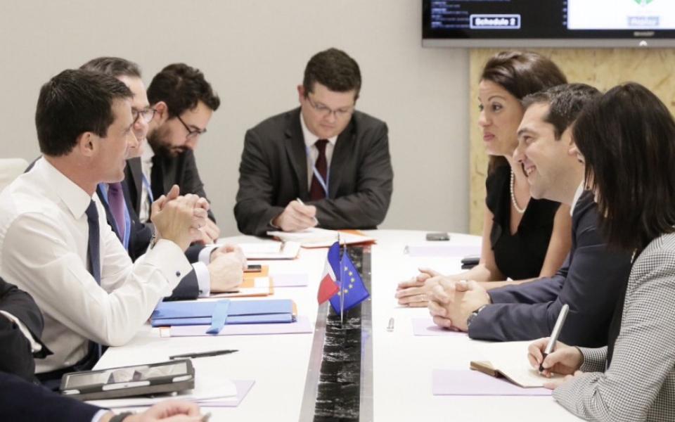 Entretien avec Alexis Tsipras, Premier ministre de Grèce
