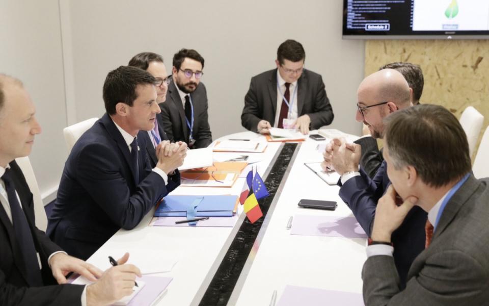 Entretien avec Charles Michel, Premier ministre du royaume de Belgique