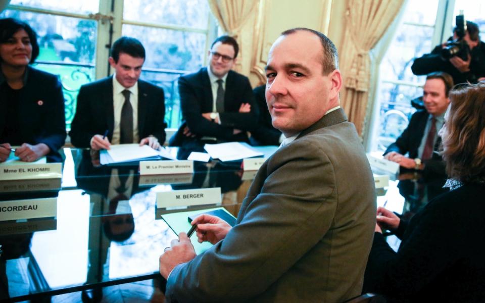 Entretien de Manuel Valls avec Laurent Berger, secrétaire général de la CFDT