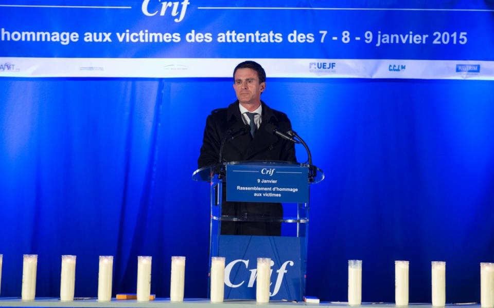Allocution de Manuel Valls lors de la cérémonie d'hommage aux victimes des attentats de janvier 2015
