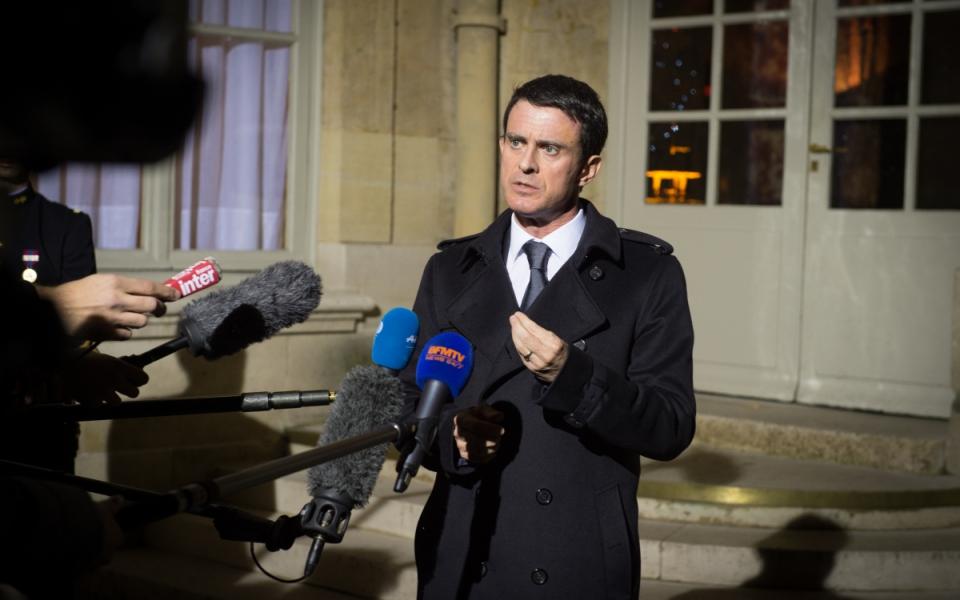 Déclaration de Manuel Valls à la presse