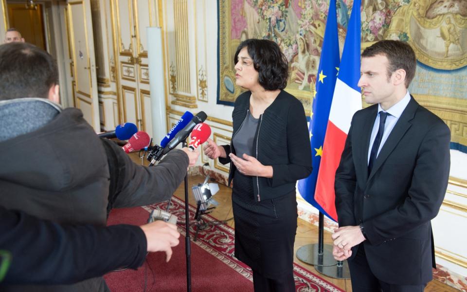 Déclaration de Myriam EL Khomri, ministre du Travail, de l'Emploi, de la Formation professionnelle et du Dialogue social, et Emmanuel Macron, ministre de l'Économie, de l'Industrie et du Numérique