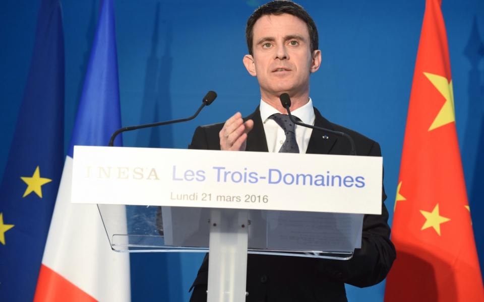 Allocution de Manuel Valls à INESA