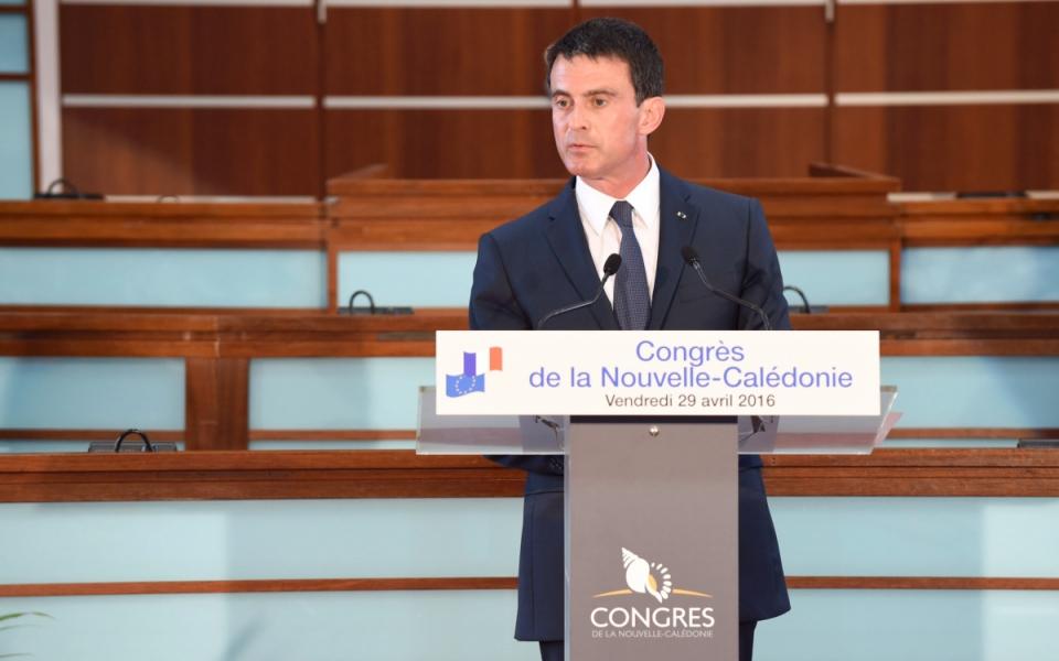 Allocution de Manuel Valls au Congrès de la Nouvelle-Calédonie