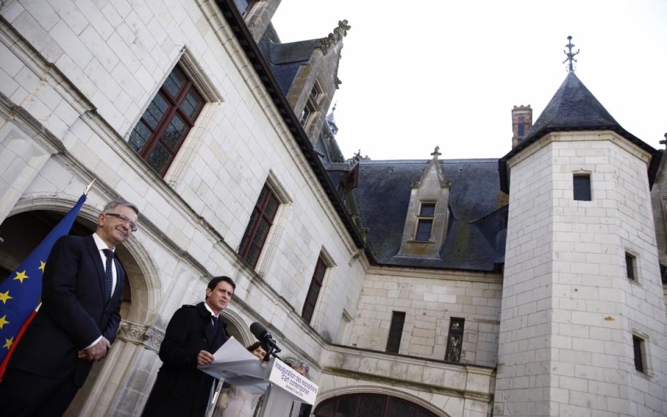 Allocution inaugurale de Manuel Valls pour les expositions d'art contemporain du château de Chaumont-sur-Loire