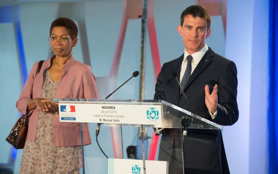 Allocution de Manuel Valls à la mairie de Nouméa