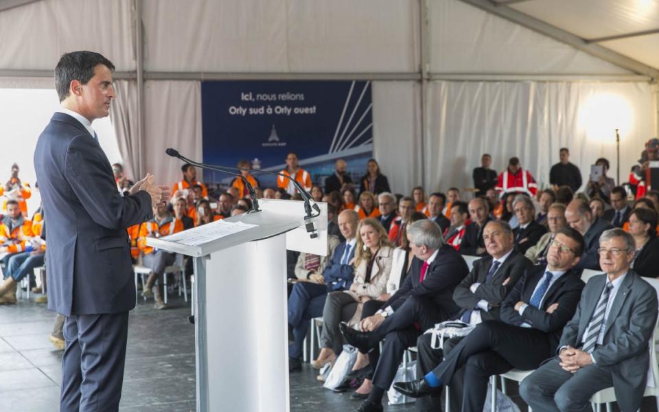 Discours de Manuel Valls à l'aéroport de Paris-Orly