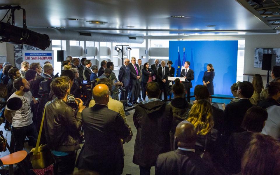 Discours de Manuel Valls lors de la présentation de l'accord foncier entre l'État et la Ville de Paris