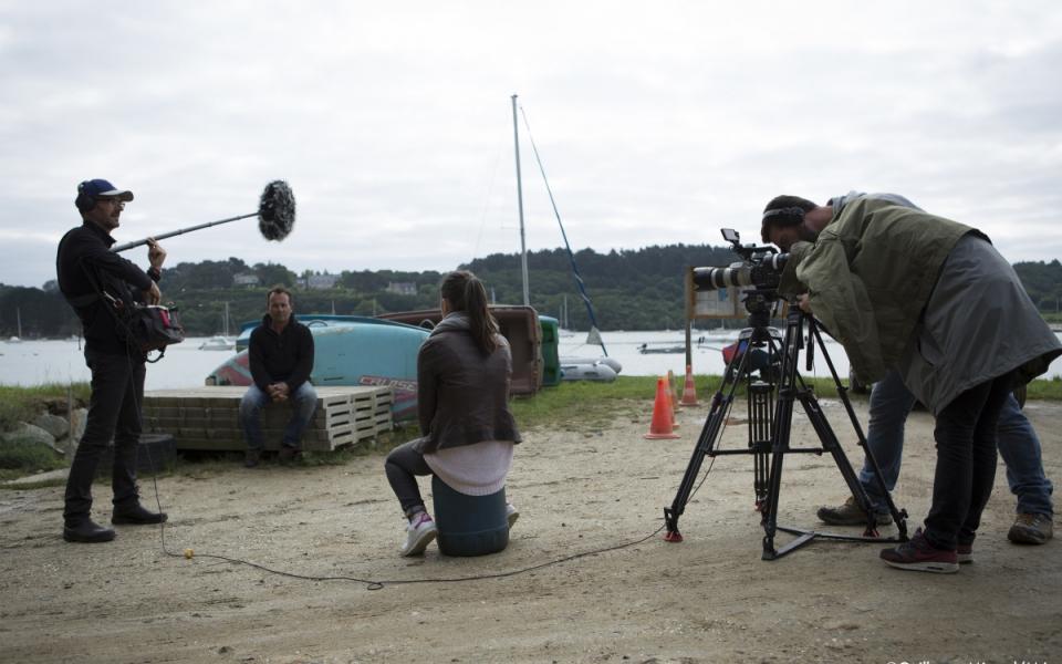 """Sur le tournage de """"Génération Apprenti(e)s"""" : interview de Thierry Trousseau, maître d'apprentissage de Paul"""