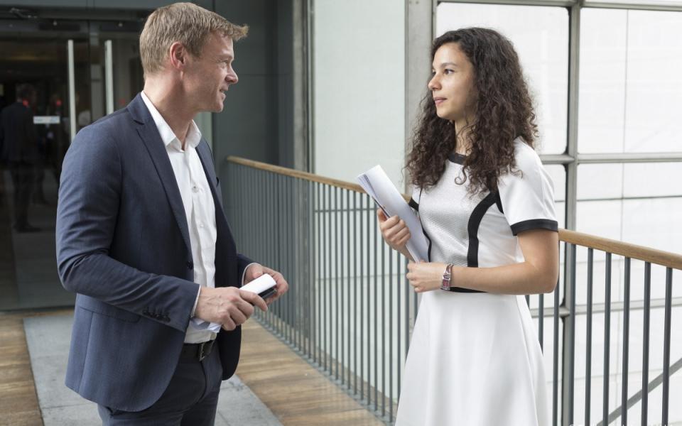 Céline et son maître d'apprentissage, Peter Verheijde