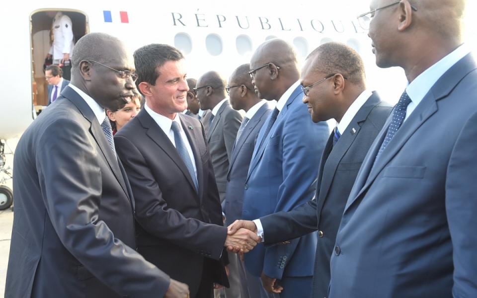 Arrivée du Premier ministre à Dakar
