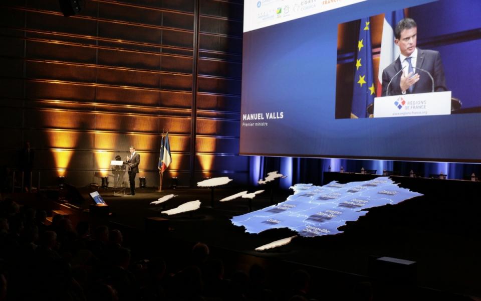 Discours du Premier ministre au Centre des Congrès de Reims
