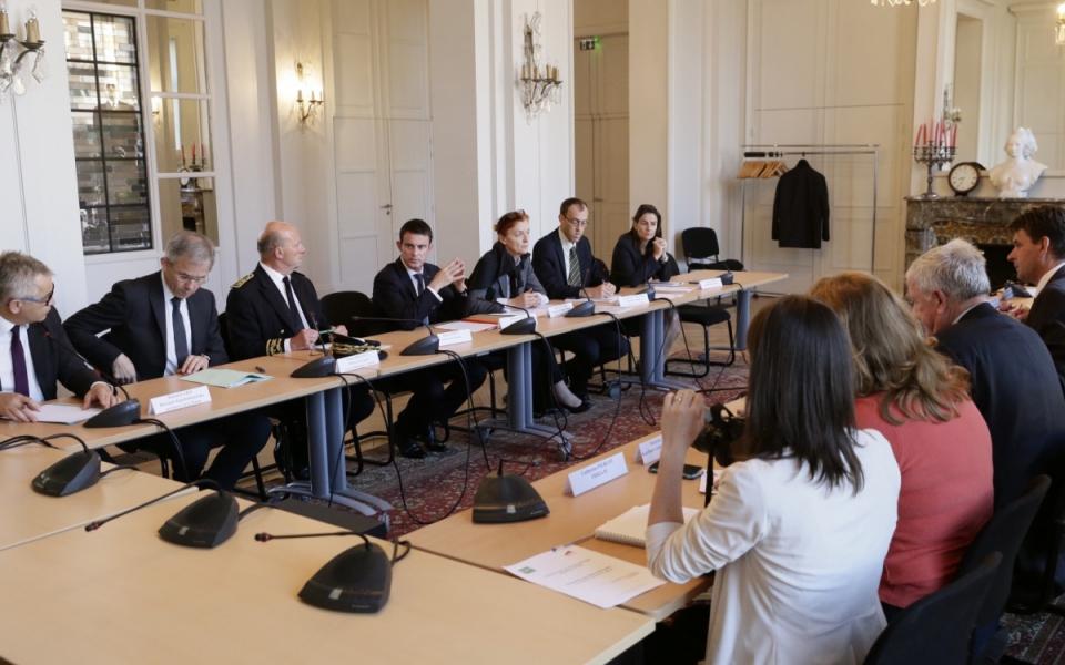 Echange avec la Fédération départementale des syndicats d'exploitants agricoles de la Marne