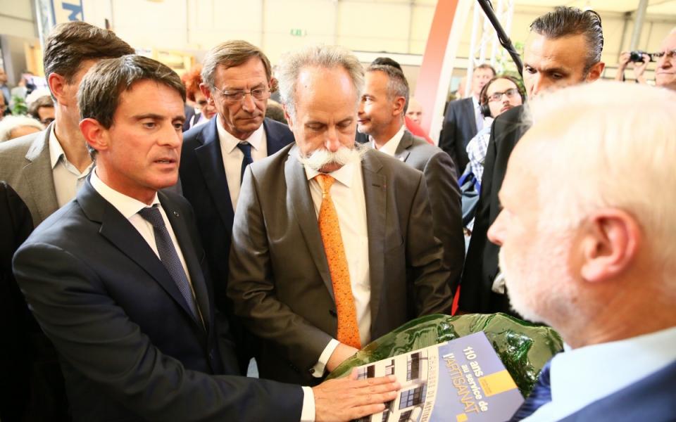 Rencontre avec les exposants de la Foire européenne de Strasbourg