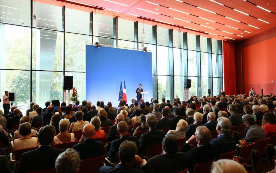 Discours du Premier ministre au Palais de la Musique et des Congrès